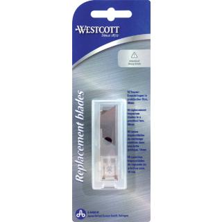 Reservemessen Westcott 18mm 10stuks Tbv E-84020