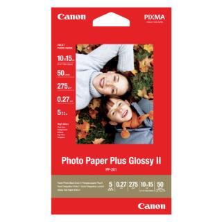 Inkjetpapier Canon PP-201 10x15cm 260gr Glans 50vel