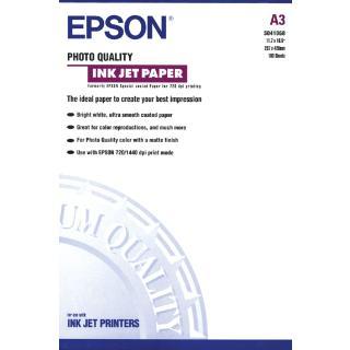 Inkjetpapier Epson S041068 A3 Mat 105gr 100vel