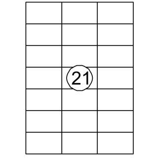 Etiket Quantore 70×42.4mm 2100stuks