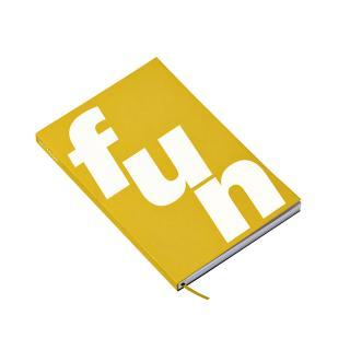 Notitieboek Octàgon FUN A5 135x200mm Dots Geel