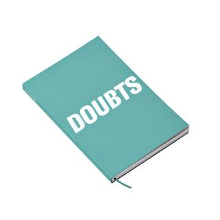Notitieboek Octàgon DOUBTS A5 135x200mm Dots Blauw