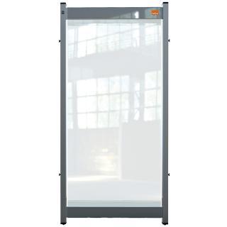 Bureauscherm Nobo Modulair Doorzichtig PVC 400x820mm