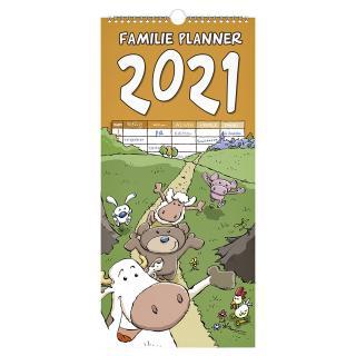 Familiekalender 2021 Ritstier