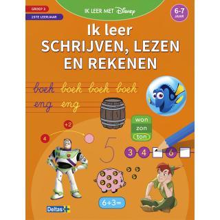 Oefenboek Disney Ik Leer Schrijven, Lezen En Rekenen