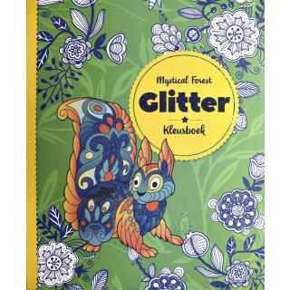 Kleurboek Interstat Glitter Volwassenen Thema Mystical Forest