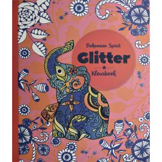 Kleurboek Interstat Glitter Volwassenen Thema Bohemian Spirit