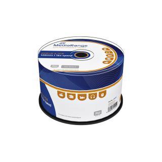 DVD+R MediaRange 4.7GB|120min 16x Speed, 50 Stuks