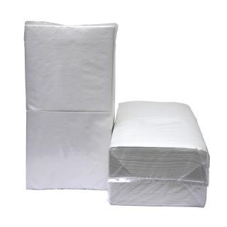 Servetten Blanco 1/4vouw 1-laags 4500st