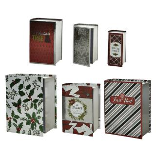 Cadeaudoos Boekenvorm Set 6 Formaten