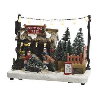 Kersttafereel Led Kerstboomverkoop