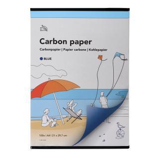 Carbonpapier A4 21×29,7cm 100x Blauw