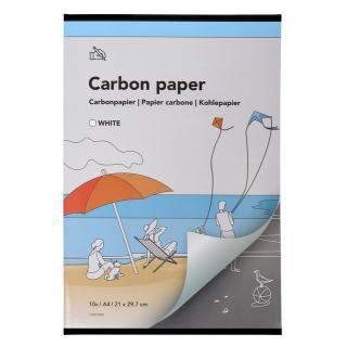 Carbonpapier A4 21×29,7cm 10x Wit