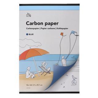 Carbonpapier A4 21×29,7cm 10x Blauw