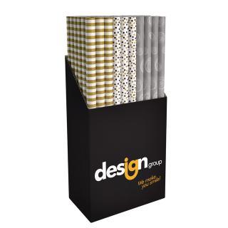 Inpakpapier Design Group Party Chique 200x70cm Assorti