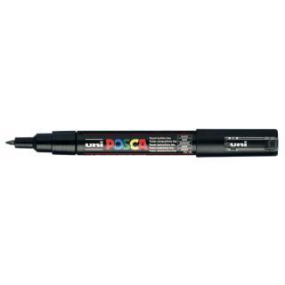 Verfstift Posca PC1MC Zwart