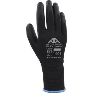 Handschoen ActiveGear Grip PU-flex Zwart Small