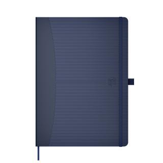 Notitieboek Oxford Signature Business Journal A5 Lijn Blauw