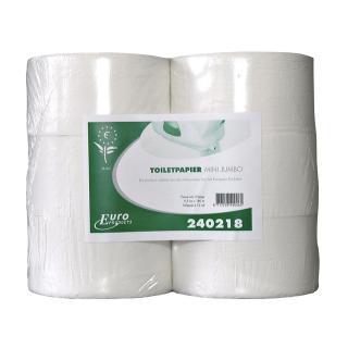 Toiletpapier Euro Mini Jumbo RW 2L