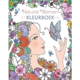 Kleurboek Deltas Natural Woman