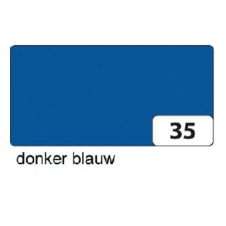 Fotokarton Folia 2zijdig 50x70cm 300gr Nr35 Koningsblauw