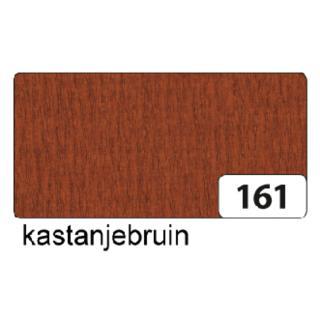 Crepepapier Folia 250x50cm Nr161 Kastanjebruin