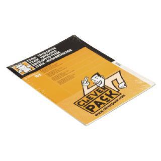 Envelop CleverPack Tyvek E4 305x394mm Zelfklevend Wit 10st