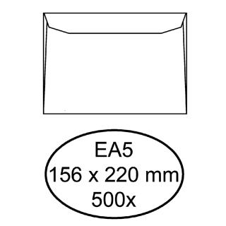 Envelop Hermes Bank EA5 156x220mm Wit 500stuks