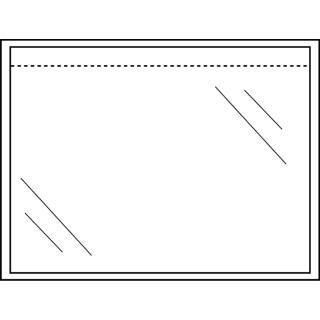 Paklijstenvelop CleverPack Zelfklevend Blanco 165×112 100st