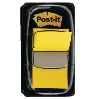 Indextabs 3M Post-it 680 25.4×43.2mm Geel