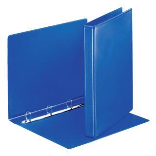 Presentatieringband Esselte A4 4-rings D-mech 20mm Blauw