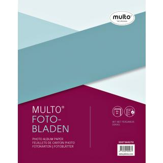 Interieur Multo Fotobladen A4 23-rings Met Dekvel 20vel Wit