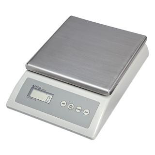 Pakketweger MAUL Count 10kg Metalen Plateau 17×17.5cm 220V/+ Batterij
