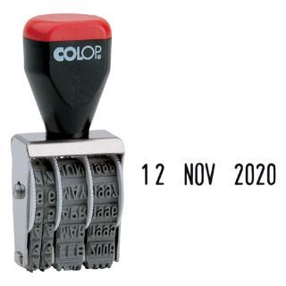 Datumstempel Colop 04000 Niet Zelfinktend 4mm