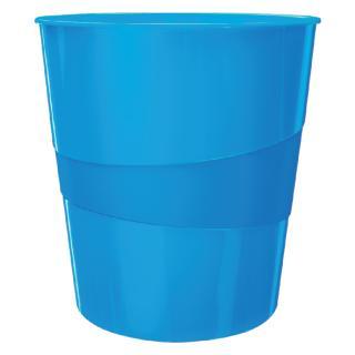 Papierbak Leitz WOW 15liter Blauw