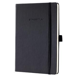 Notitieboek Conceptum CO132 A6 Zwart Lijn