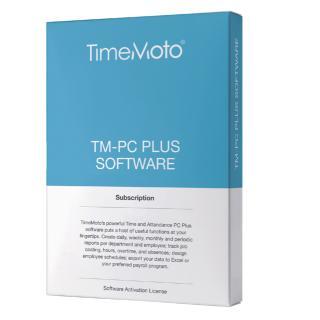 TimeMoto TM-PC PLUS Planningssoftware