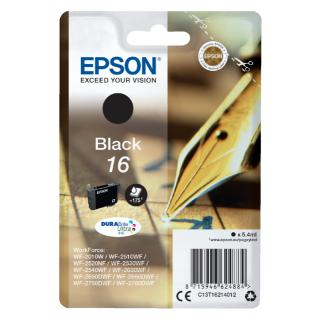 Inktcartridge Epson 16 T1621 Zwart
