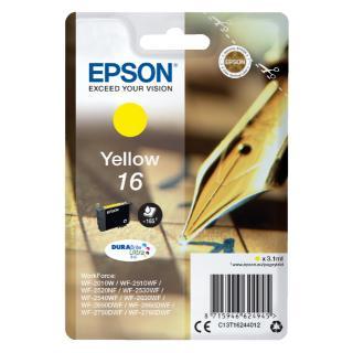 Inktcartridge Epson 16 T1624 Geel