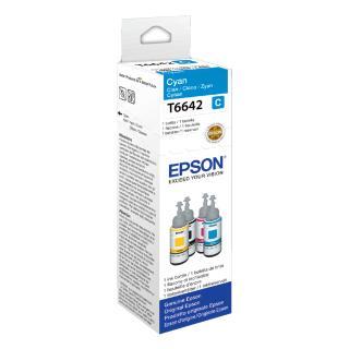 Flacon Navulinkt Epson T6642 Blauw