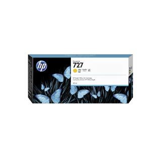 Inktcartridge F9J78A 727 300ml Geel