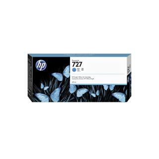Inktcartridge F9J76A 727 300ml Blauw