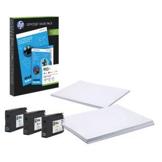 Inktcartridge HP 1CC21AE 953XL 75vel A4 + 3 Kleuren