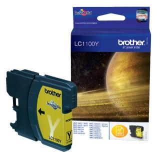 Inktcartridge Brother LC-1100Y Geel