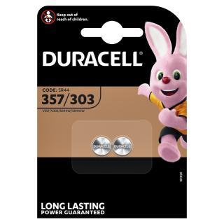 Batterij Duracell Knoopcel 2×357/303 Zilver Oxide Ø11,6mm 2 Stuks