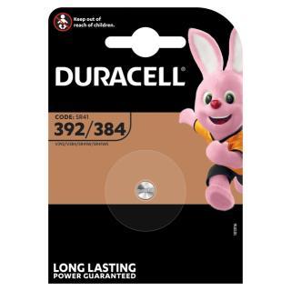 Batterij Duracell Knoopcel 1×392/384 Alkaline Ø7,9mm 1,5V-45mAh
