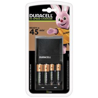 Batterij Oplader Duracell CEF27 + 2xAA +2xAAA