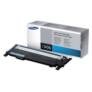 Tonercartridge Samsung CLT-C406S Blauw