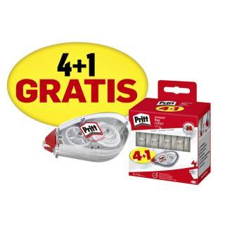 Correctieroller Pritt Compact Mini-flex 4.2mmx10m Valuepack à 4+1 Gratis