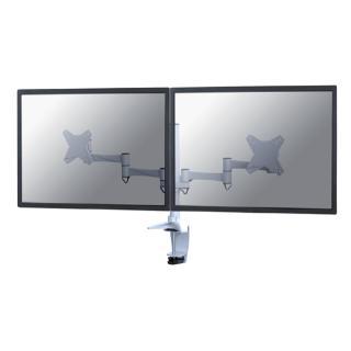 Monitorarm Newstar D1330D 2×10-27″ Wit